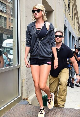 shorts sports bra sports shoes sports shorts taylor swift sunglasses jacket hoodie shoes