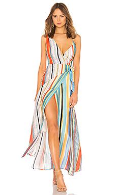 Lovers   Friends Montague Maxi Dress in Aruba Stripe from Revolve.com