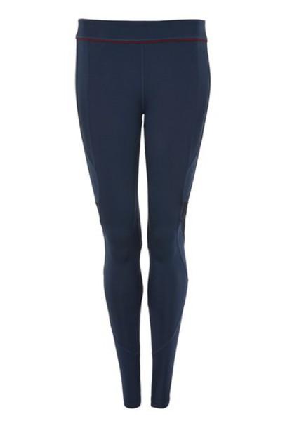 Topshop leggings navy pants
