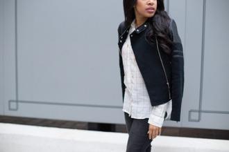 mattieologie blogger jacket jeans shirt shoes jewels