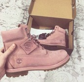 shoes,pink,timberlands,timberland boots shoes,timberland,winter boots,pink shoes