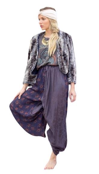 pants harem pajamas pattern colorful wide leg high waist shopcoolie