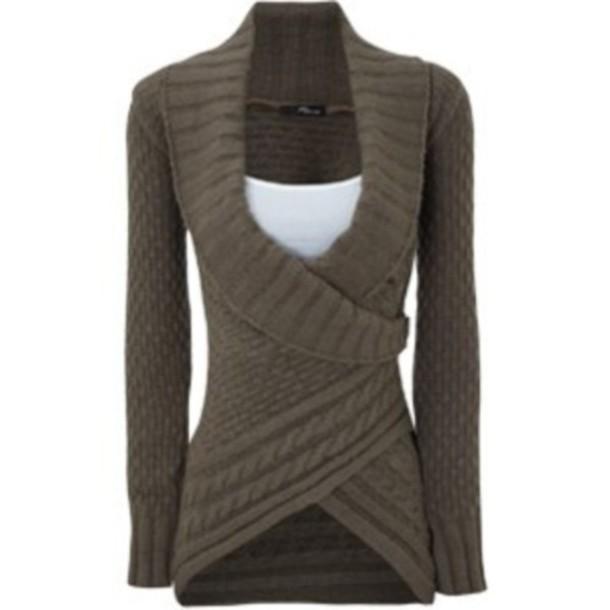 Красивый свитер - Модная одежда
