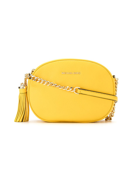 MICHAEL Michael Kors women bag crossbody bag leather yellow orange