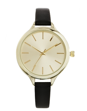 New Look | New Look Large Face Skinny Watch at ASOS