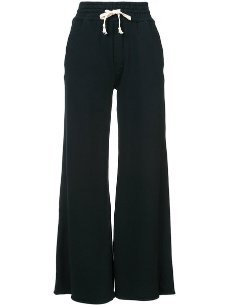 Mother pants track pants women cotton black