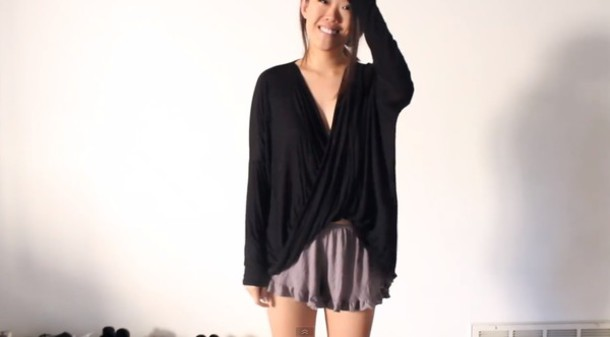sweater summer black