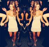 dress,white dress,audrina patridge,clubwear