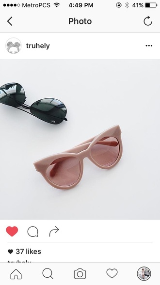 sunglasses pink rose gold designer pastel glasses pink sunglasses