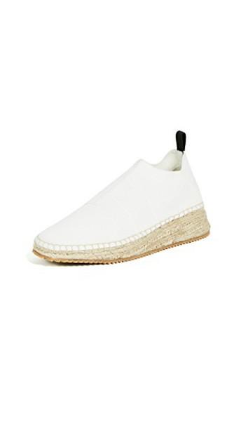 Alexander Wang knit white shoes