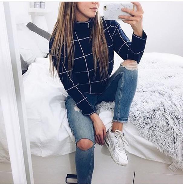 sweater wheretoget. Black Bedroom Furniture Sets. Home Design Ideas