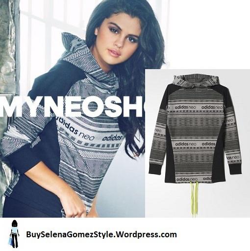 Selena Gomez Adidas NEO FW 2015 Collection