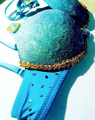 underwear jasmine disney princess princess glitter sparkle rave rave bra disney blue rhinestones strass