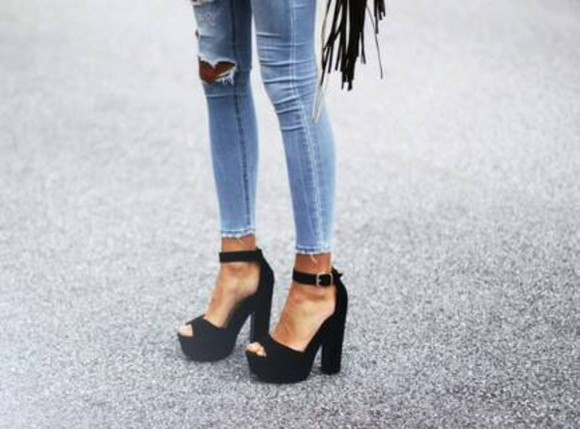 shoes jeans amazing