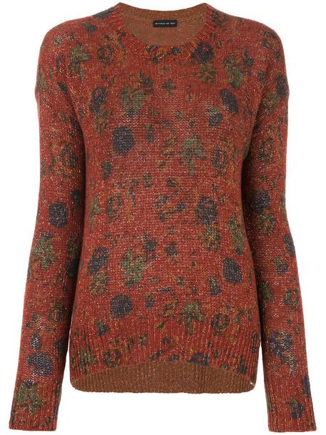 ETRO sweater metallic women wool red