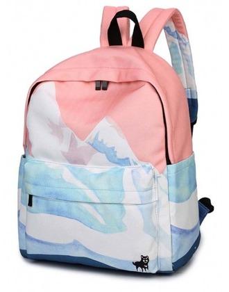 bag girl girly girly wishlist backpack pink blue cute