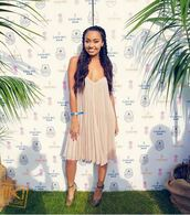 dress,summer dress,summer,leigh-anne pinnock,sandals,shoes,romantic,romantic summer dress