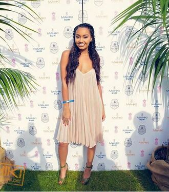 dress summer dress summer leigh-anne pinnock sandals shoes romantic romantic summer dress