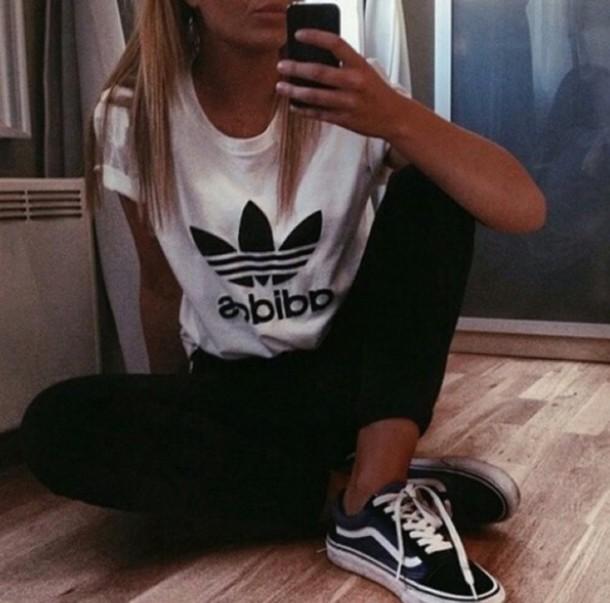 t-shirt adidas shirt adidas shoes shirt addidas shirt jacket adidas white logo tee top
