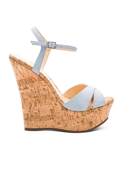 Schutz Emiliana Wedge in blue