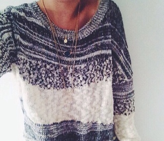 stripes ombre cold fall outfits coldweather sweater