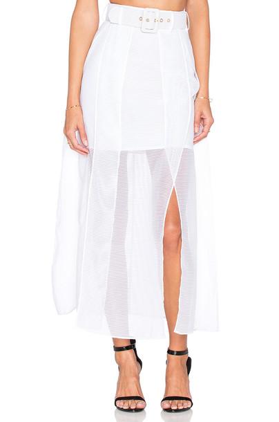 Alice McCall skirt white