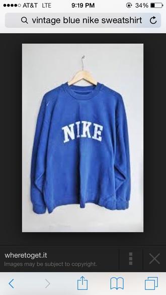 sweater nike sweater navy