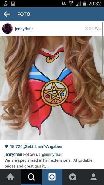 t-shirt sailor moon
