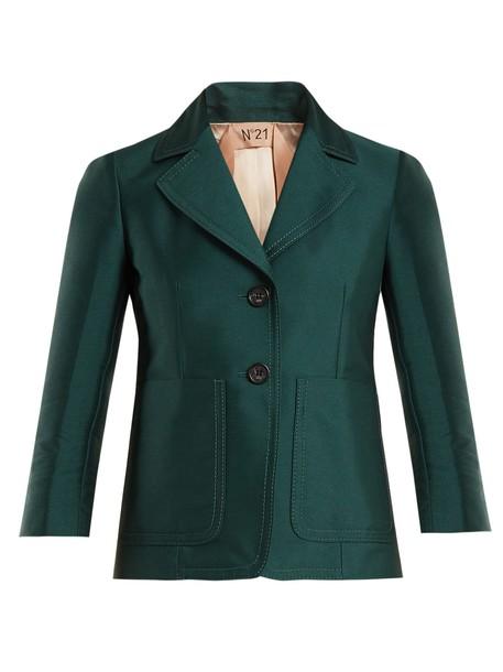 No. 21 jacket dark green