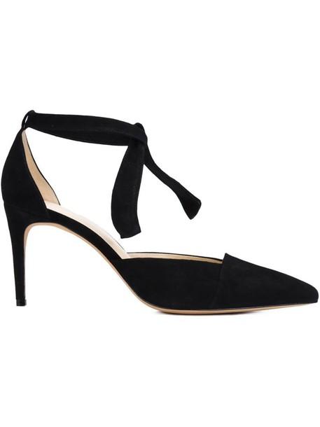 Alexandre Birman women pumps leather black shoes