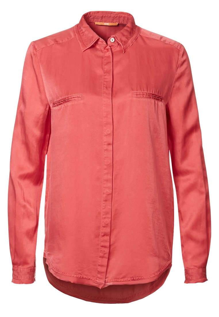 BOSS Orange EMILITYE - Bluse - dark red - Zalando.de