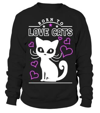 sweater cats cat sweater cat sweatshirt shirt black sweater black sweatshirt