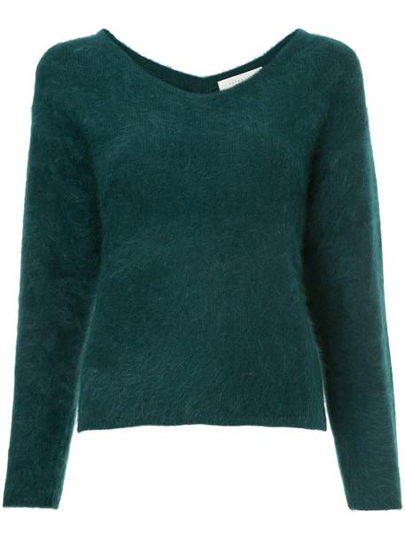 Estnation jumper women green sweater