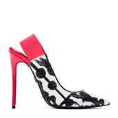 pumps,black and white