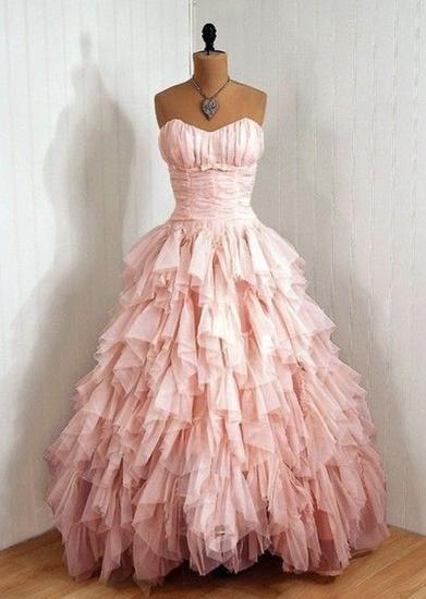 Ruffles Prom Dress