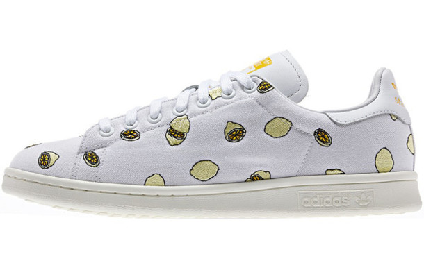 shoes adidas stan smith lemons normcore