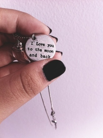 jewels necklace jewerly to the moon and back i love you to the moon and back shirt