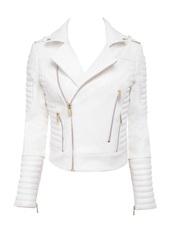 jacket,white,leather jacket,white sweater,style,fashion,fall sweater