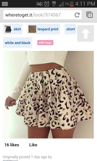 highwaisted brown skirt