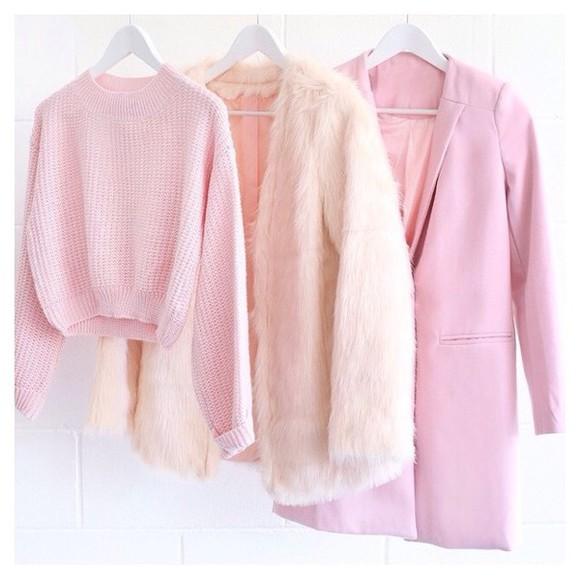 topshop jacket coat forever 21 victoriasecrets riverisland pastel pink