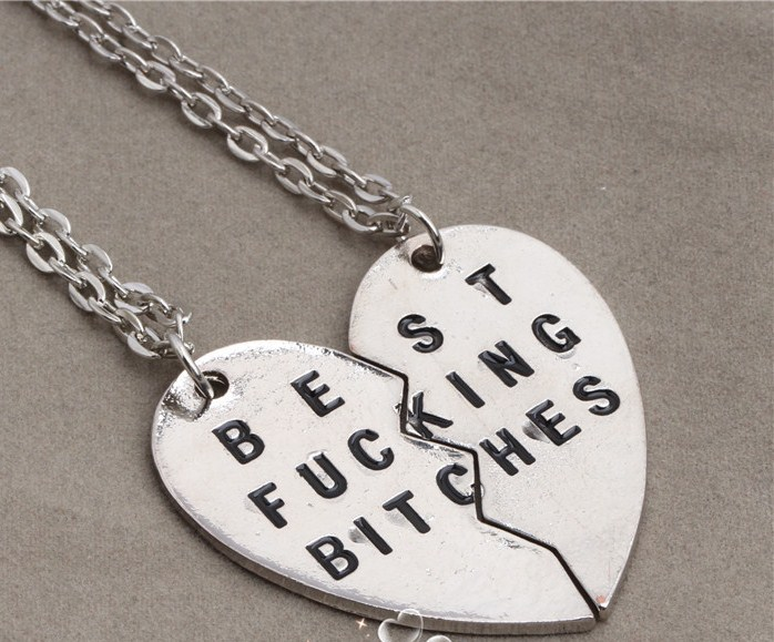 Best fucking bitches necklaces · radtrash · online store powered by storenvy