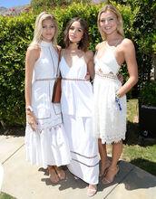 dress,white dress,summer dress,romantic summer dress,midi dress,olivia culpo,lace dress,coachella,rachel hilbert