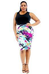 skirt,plus size,plus size skirt,midi skirt,painting,paintbrush,art,artist,bodycon,multicolor