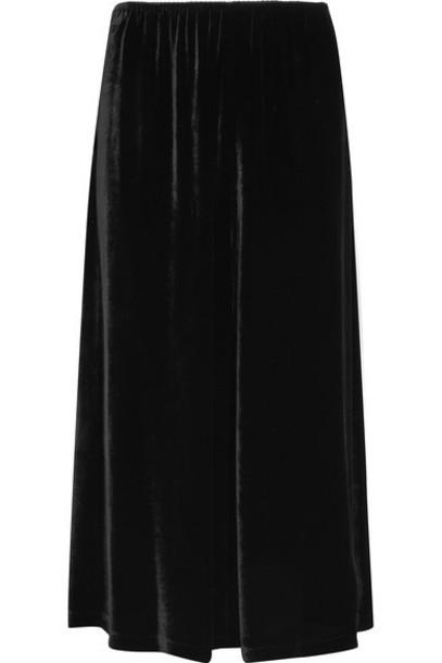 McQ Alexander McQueen skirt midi skirt midi black velvet