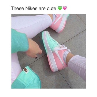 shoes nike nike shoes for women pink blue