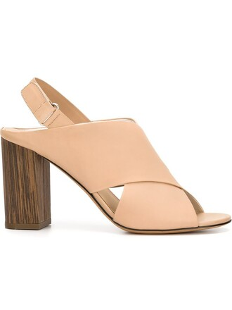 heel sandals nude shoes