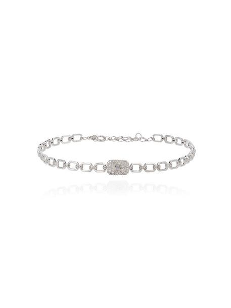 Shay women gold white grey metallic jewels