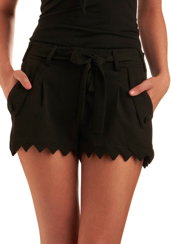 Mod retro vintage shorts