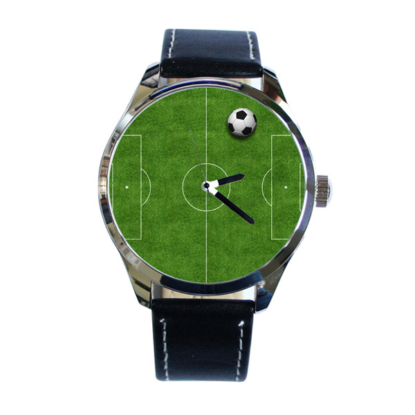 jewels football pitch football watch soccer watch soccer football watch watch green leather watch unique watch unusual watch cool watch ziz watch ziziztime