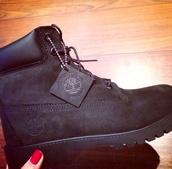 shoes,black,timberlands,black timberlands,all black everything